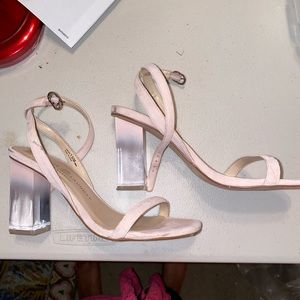 CHINESE LAUNDRY CLEAR HEELS